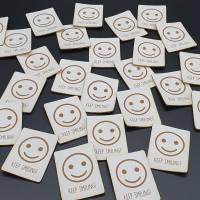 Kunstlederlabel Smile Bild 6
