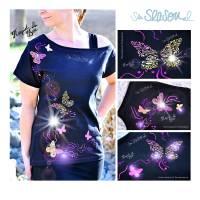 Schmetterling, Plotterdatei für Folien oder Papier, in 4 Varianten, als svg und dxf Bild 2