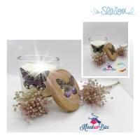 Schmetterling, Plotterdatei für Folien oder Papier, in 4 Varianten, als svg und dxf Bild 4