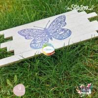 Schmetterling, Plotterdatei für Folien oder Papier, in 4 Varianten, als svg und dxf Bild 5