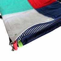 """Umhängetasche """"Color"""" , tolles Upcycling in vier Farben, Schultertasche, Beuteltasche, Body-Bag, Jeanstasche, Pa Bild 6"""