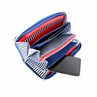 """Geldbörse """" Color """" ein geräumiges Portemonnaie mit Reißverschluss, Geldbeutel, maritim, Portmonee Bild 4"""
