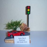 Geldgeschenk, Gutschein, Finanzspritze zum Führerschein/ neues Auto, Geschenk, Geldgeschenkverpackung, Bild 1