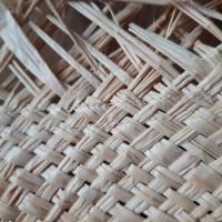 Strohhut breitkrempig mit Fransen und Bindebändern Bild 9