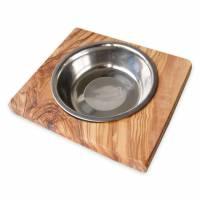 Futternapf LUCKY (0,2 l-Metallschale) für Hunde & Katzen Bild 2
