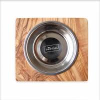 Futternapf LUCKY (0,2 l-Metallschale) für Hunde & Katzen Bild 3