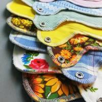 EINZELNE waschbare Slipeinlagen und Binden in 4 verschiedenen Stärken *Upcycling-Produkt*  Bild 3