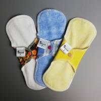 EINZELNE waschbare Slipeinlagen und Binden in 4 verschiedenen Stärken *Upcycling-Produkt*  Bild 6