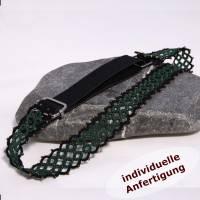 Haarband Klassik aus Baumwolle mit oder ohne Perlen INDIVIDUELLE ANFERTIGUNG Bild 2