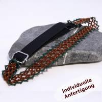 Haarband Klassik aus Baumwolle mit oder ohne Perlen INDIVIDUELLE ANFERTIGUNG Bild 4