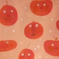 """Öko Baby Peach Boys T-shirt Top Motif Terrakotta und blaugrau Gr. 92 in anderen Größen zu bestellen """"Freche Früchtch Bild 2"""