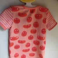 """Öko Baby Peach Boys T-shirt Top Motif Terrakotta und blaugrau Gr. 92 in anderen Größen zu bestellen """"Freche Früchtch Bild 3"""