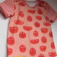 """Öko Baby Peach Boys T-shirt Top Motif Terrakotta und blaugrau Gr. 92 in anderen Größen zu bestellen """"Freche Früchtch Bild 5"""