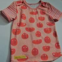 """Öko Baby Peach Boys T-shirt Top Motif Terrakotta und blaugrau Gr. 92 in anderen Größen zu bestellen """"Freche Früchtch Bild 6"""