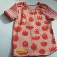 """Öko Baby Peach Boys T-shirt Top Motif Terrakotta und blaugrau Gr. 92 in anderen Größen zu bestellen """"Freche Früchtch Bild 7"""