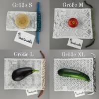 Obst-und Gemüsenetze in 4 verschiedenen Größen *Upcycling-Produkt* Bild 1