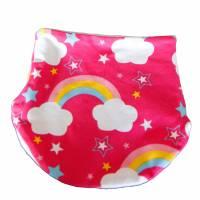 NEU Loop Jersey Regenbogen Fleece Kinder  Kopfumfang  39-40 cm Bild 3