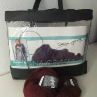 Starter - Set Lana Grossa, Farbe dunkelbraun Bild 1