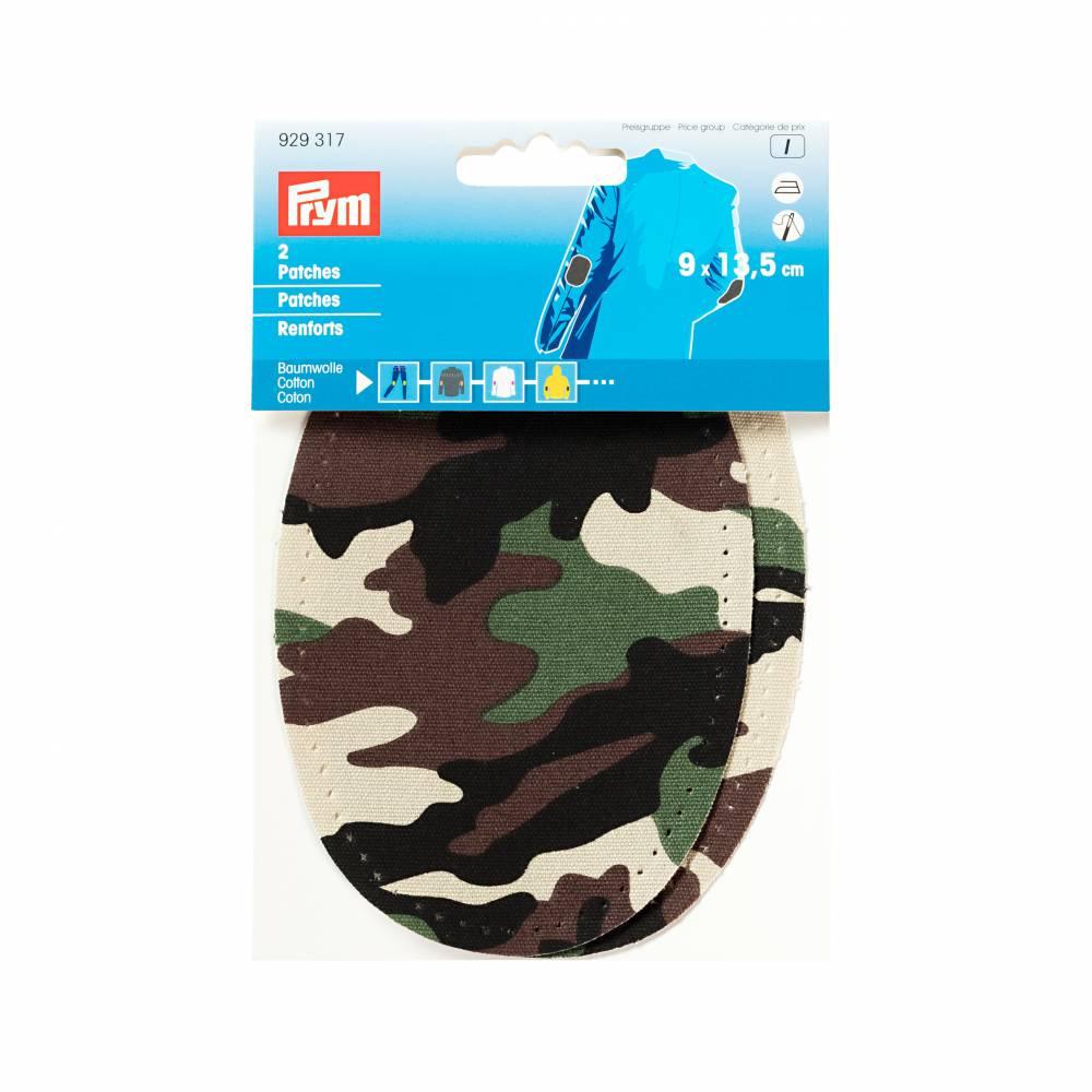 Patches Baumwolle Camouflage 9x13,5cm aufbügelbar Prym 929317 Bild 1