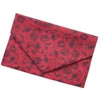 Geschenkverpackung in Briefform *Rote Rosen* Tasche aus Baumwolle wiederverwendbar no waste bag Bild 1