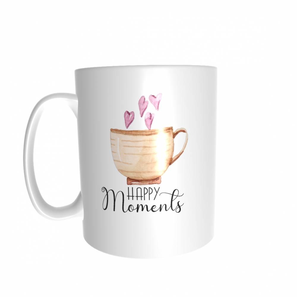 ***HAPPY MOMENTS*** - Tasse - Geschenk Bild 1