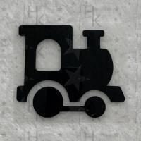 Bügelbild - Lok / Lokomotive - viele mögliche Farben Bild 1