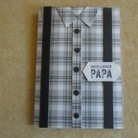 Vatertag ,Vatertagskarte,Glückwunschkarte zum Vatertag ,Vater Papa,Papi, Bild 1