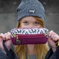 Kork-Etiketten zum Aufnähen - 6er Set #LabelDruff - 1. Generation   vegane Taschenetiketten Bild 5