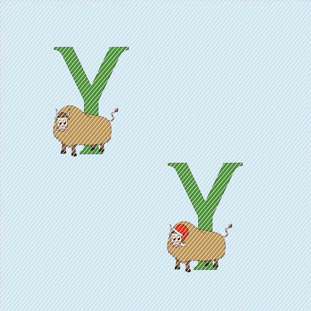 Prostamp Tier Alphabet Y Bild 1