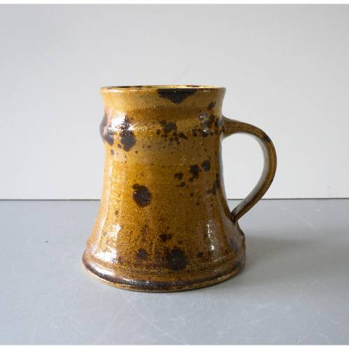 Vase Krug Studio Keramik, Ody Keramik, Vintage Vase, Mid-Century Keramik, 1980er Jahre, von Annette Ody, Germany