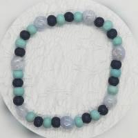 Armband für stillende Mütter Mamas Stillhilfe mit Chalcedon, dehnbar Bild 2