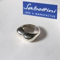 """""""MOM(M)A""""  der Fingerring  massiv 935 Silber. Bild 1"""