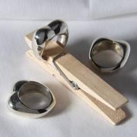 """""""MOM(M)A""""  der Fingerring  massiv 935 Silber. Bild 3"""