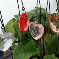 Kleine Herz Blumenstecker in 11 Farben Bild 4