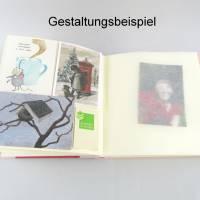 Fotoalbum, rosa rot, Herzen, 25 x 24,5 cm, 60 Seiten Bild 6