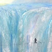 Wilde Wasser – majestätisch und atemberaubend - Original Ölmalerei, gerahmt Bild 3