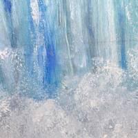 Wilde Wasser – majestätisch und atemberaubend - Original Ölmalerei, gerahmt Bild 4