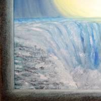 Wilde Wasser – majestätisch und atemberaubend - Original Ölmalerei, gerahmt Bild 5