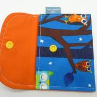 Kindertasche Eulenwald + Geldbeutel, Unikate von hessmade Bild 4