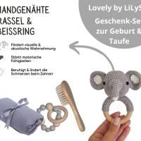 "Geschenk Set zur Geburt ""Elefant Kaori"", Baby Party Geschenkebox, Geschenkebox für Baby, Geschenk zur Taufe Bild 2"