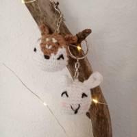 Schlüsselanhänger Tiere gehäkelt  Bild 4