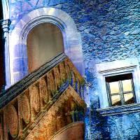 Palma de Mallorca - Pueblo Español - Palacio de la Diputación 2 - Digital-ART - Kunstwerk 1/10 - Design  Ulrike Kröll Bild 4