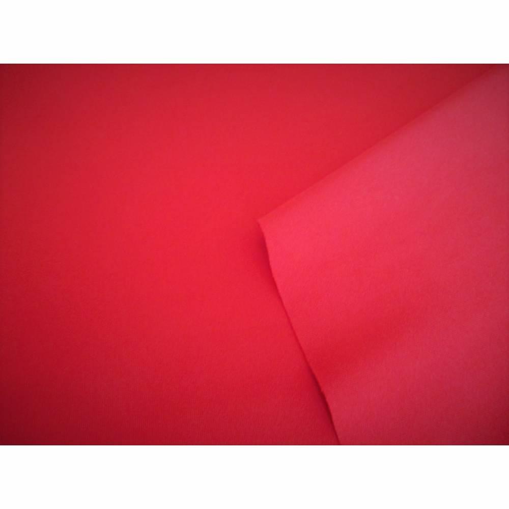 Funktionsjersey Jersey Sport- und Freizeitkleidung uni rot (1m/10,-€) Bild 1