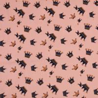 Cord Feincord Baumwolle Krone rosa (1m/10,-€) Bild 2