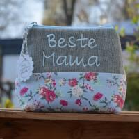 ️ Beste Mama ️ Schminktäschchen   Bild 1