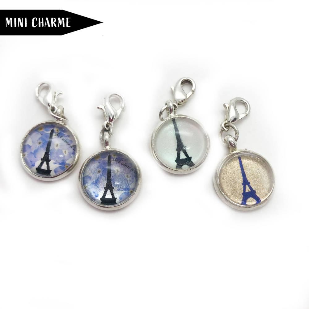 Eiffelturm Mini Charme Anhänger Bild 1
