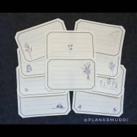 Papier Label-Set Jahreszeiten, 10-tlg. Bild 1