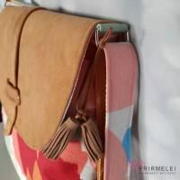 """Geräumige Handtasche im Bohostyle (""""Bohania"""" von Hansedelli) Bild 3"""
