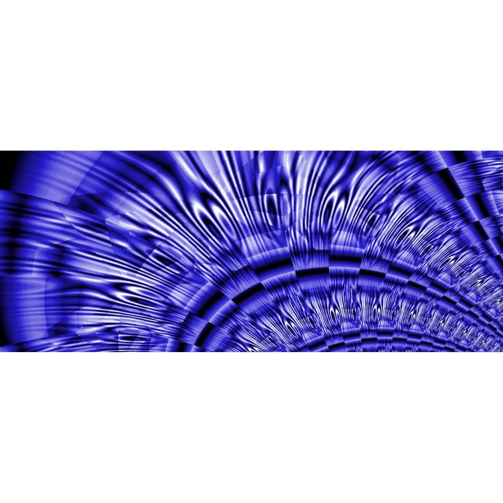 Blue lines  - Digital-ART - Kunstwerk 1/10 – Design  Ulrike Kröll Bild 1