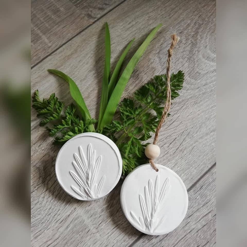 Duftstein Aromastein Duftpender Duftanhänger DUFTTALER Natur Pflanzen Rosmarin Bild 1